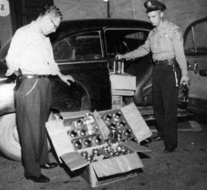 cop pulls over bootlegger