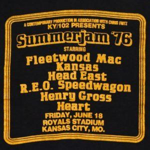 Summerjam '76 - Kauffman Stadium Concerts